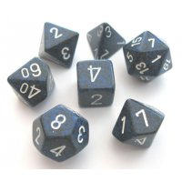 SET DE 7 DES - SPECKLED - STEALTH